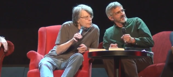 Stephen King to Maxime CHattam : you're a sick puppy