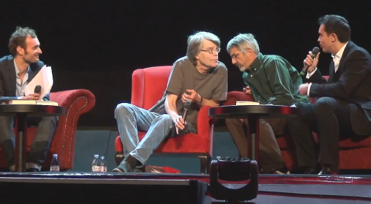 [stephenking et maximechattam au grand rex paris france]
