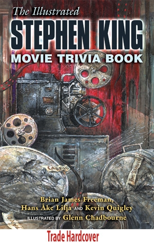 [illustrated stephen king movie trivia hardcover]