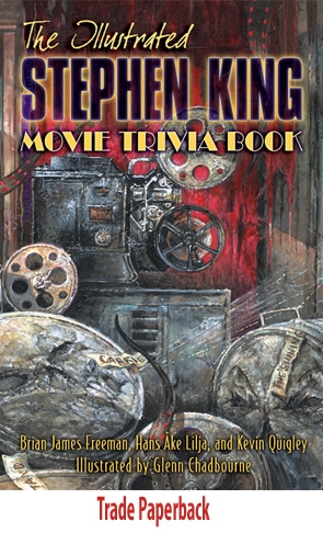 [illustrated stephen king movie trivia paperback Stephen King - Photo]