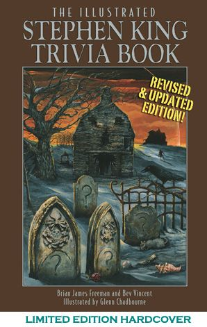 [illustrated stephenking trivia book revised paperback Stephen King - Photo]