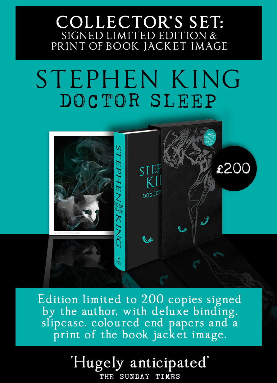 [Stephen King doctor sleep limited uk]