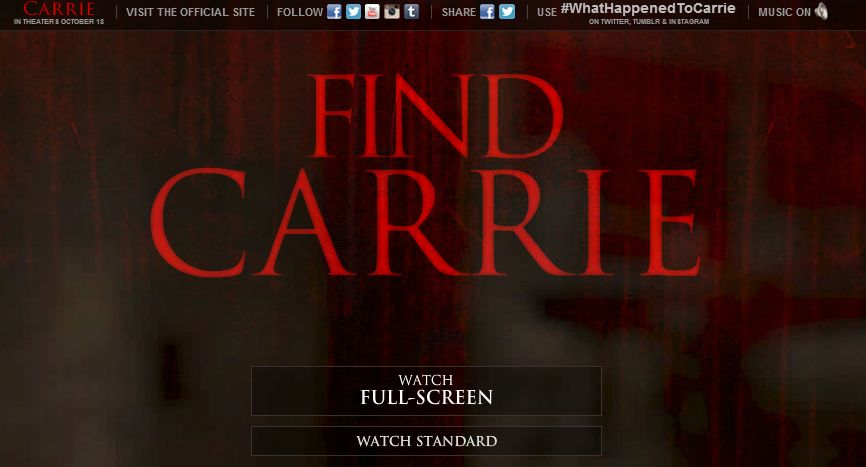 [find carrie]