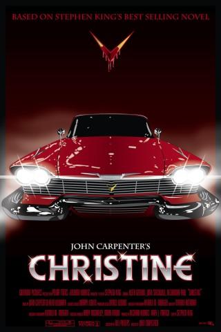 [christine movie poster]