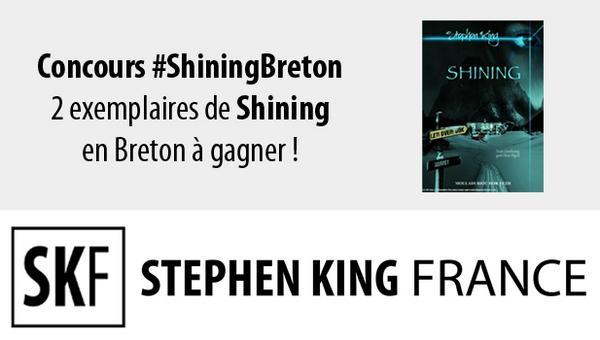 [concours shining stephenking breton]