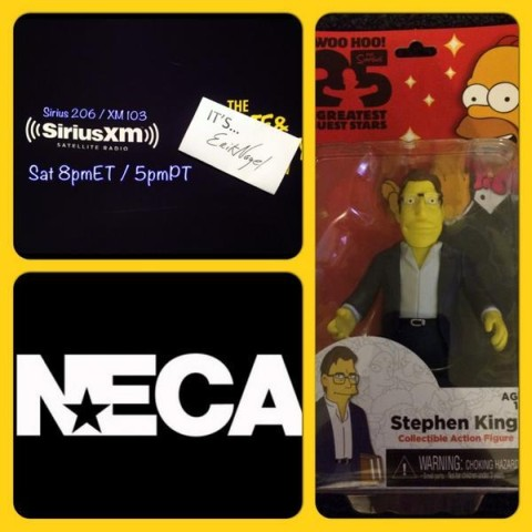 [neca stephenking figurine simpsons final]