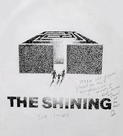 The Shining (Kubrick) rejected posters
