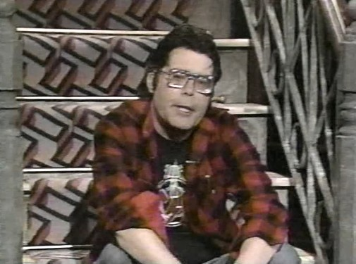 Stephen King MTV Guest, 1986
