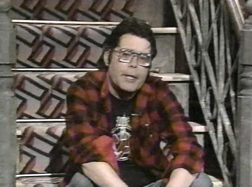 Stephen King MTV Guest, 1986