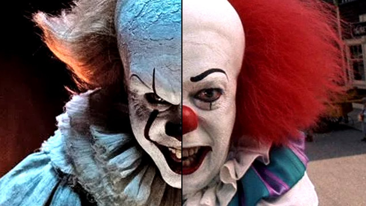 [pennywise it 1990 2017]