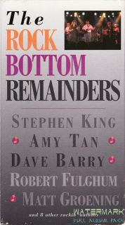 [Rock Bottom Remainders Vhs - Photo Stephen King]