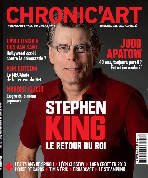 [chronic art avril2013 - couverture Stephen King]