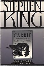 [Stephen King Carrie collectors edition]