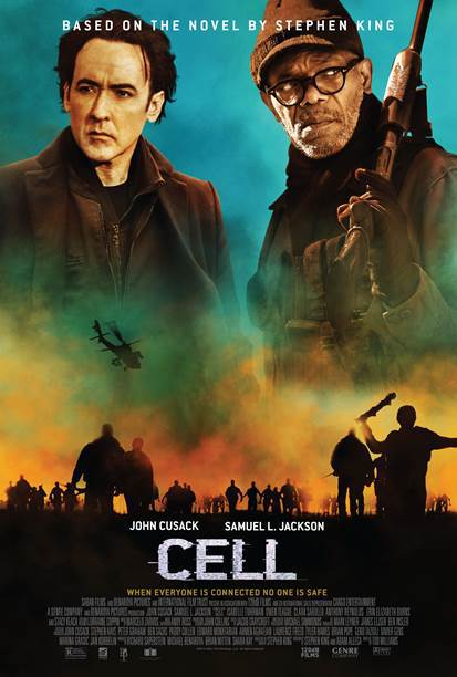 [cell stephen king movie poster]