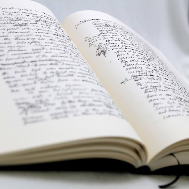 [Frankenstein manuscrit]