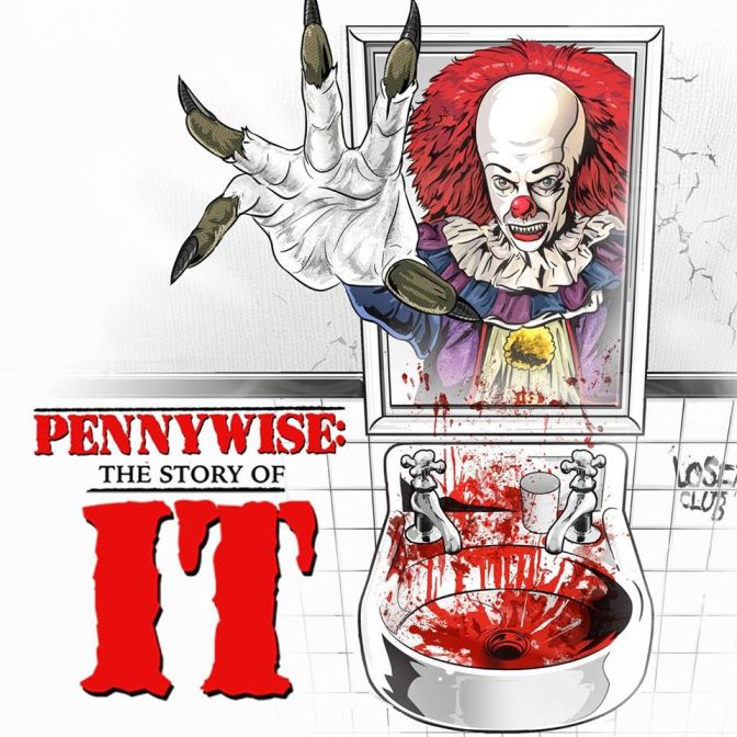 [pennywise the story of it documentary 2018 poster]