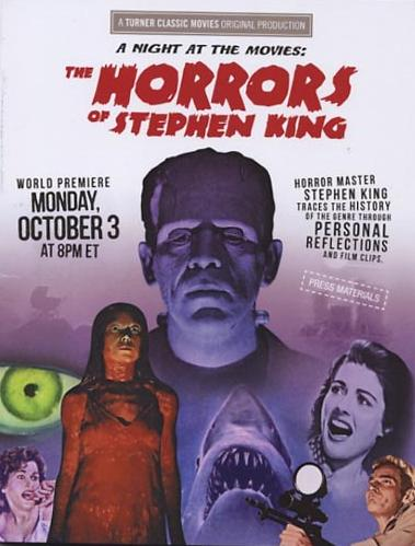the horrors of stephen king - promo dvd