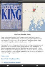 [bangor haunted brett hiatt stephen king app iphone]