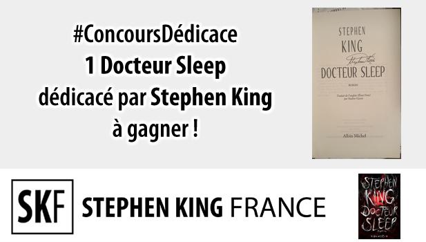 [StephenKing ConcoursDedicace]