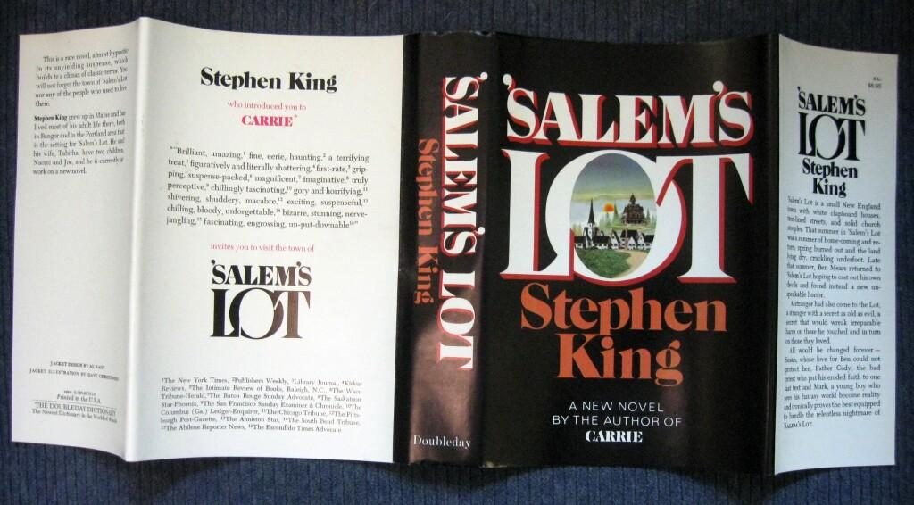[salems lot stephenking unclipped first dj doubleday]