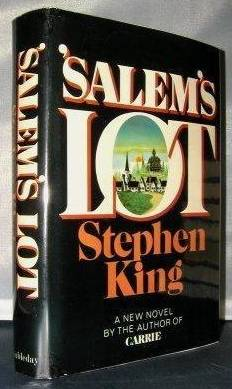 [salems lot stephenking unclipped first dj doubleday2]