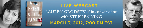 [stephen king interview lauren grodstein Stephen King - Photo]