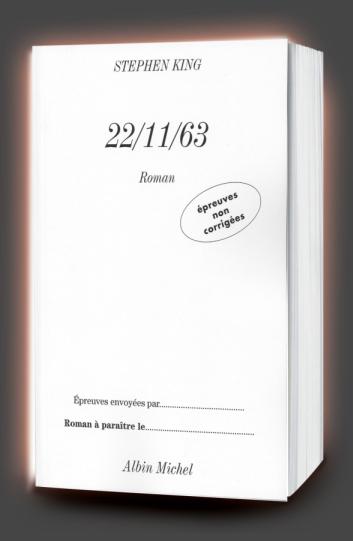 11/22/63 221163-epreuves-non-corrigees--AlbinMichel