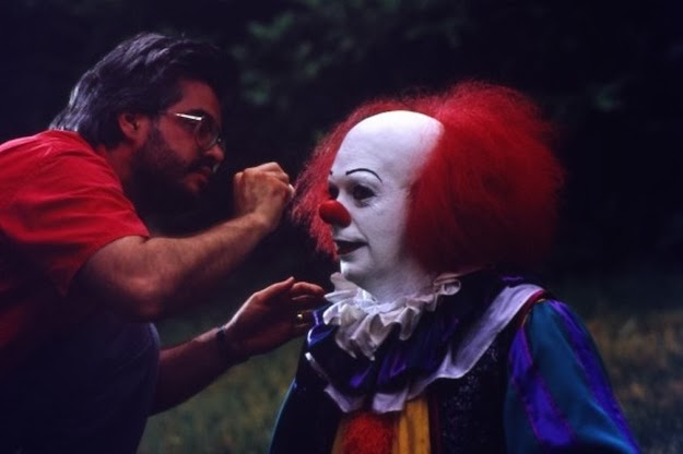[IT pennywise behind the scenes]
