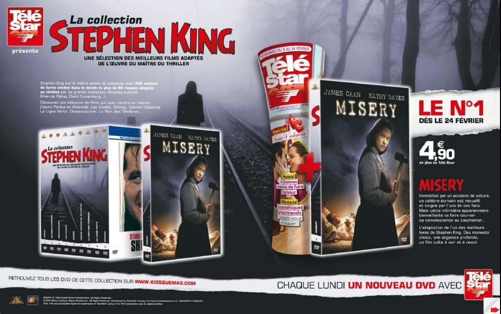 [collection StephenKing telestar 2014]