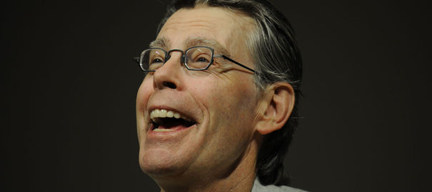 [stephen king portrait]