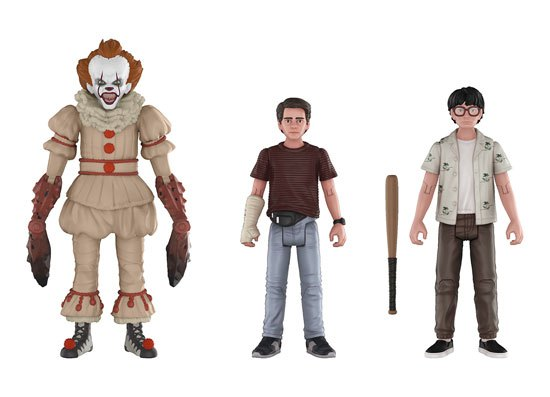 [funko action figures grippe sou pennywise eddie richie]