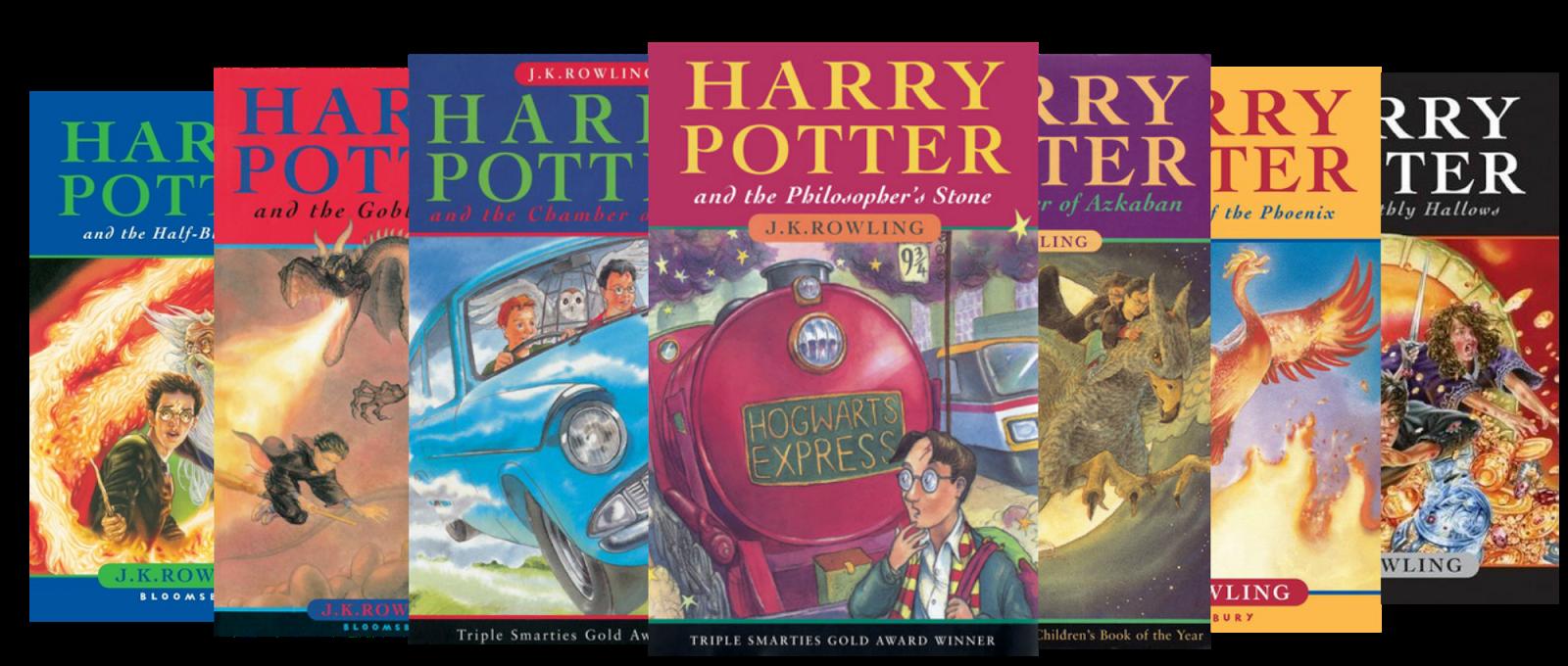 [harry potter books]