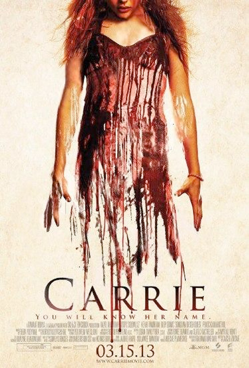 [Carrie la vengeance - Carrie 2013 : Poster Stephen King]