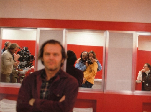 Photos du tournage de SHINING de Stanley Kubrick et Stephen King