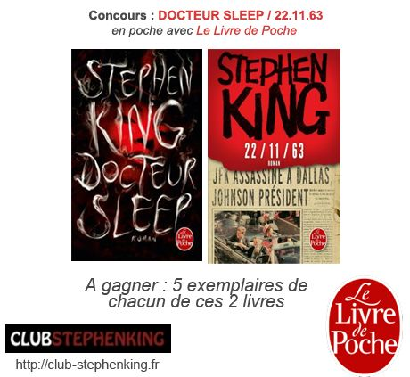 Concours DOCTEUR SLEEP / 22.11.63 Concours