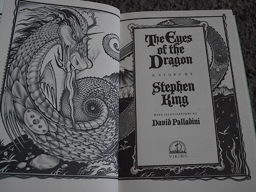 [eyes of the dragon stephenking david palladini]