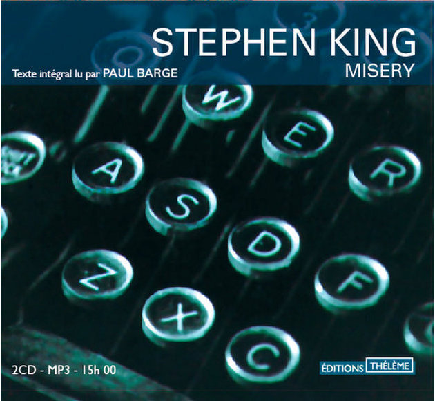 [misery stephenking livre audio theleme]