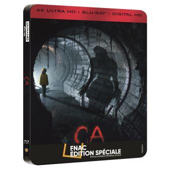 [Ca Edition speciale Fnac Steelbook Blu ray 4K 2D]