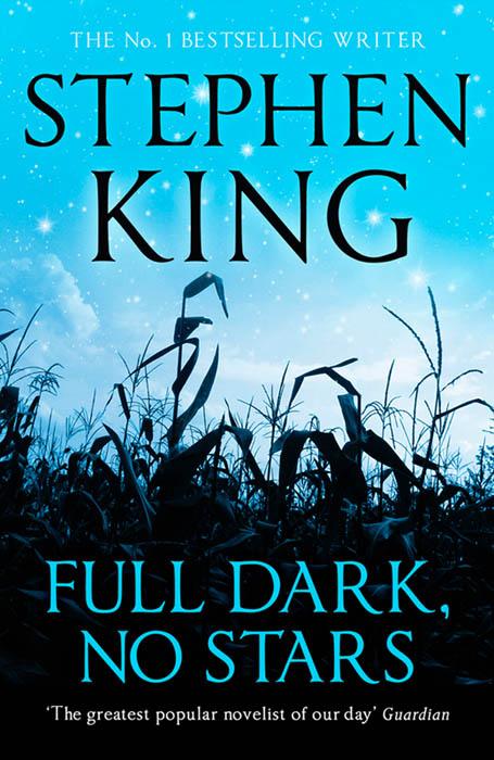 Full Dark No Stars - couverture britannique (UK)