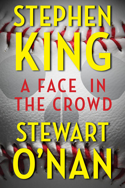 [A face in the crowd - Stephen King & Steward O'Nan- Photo]