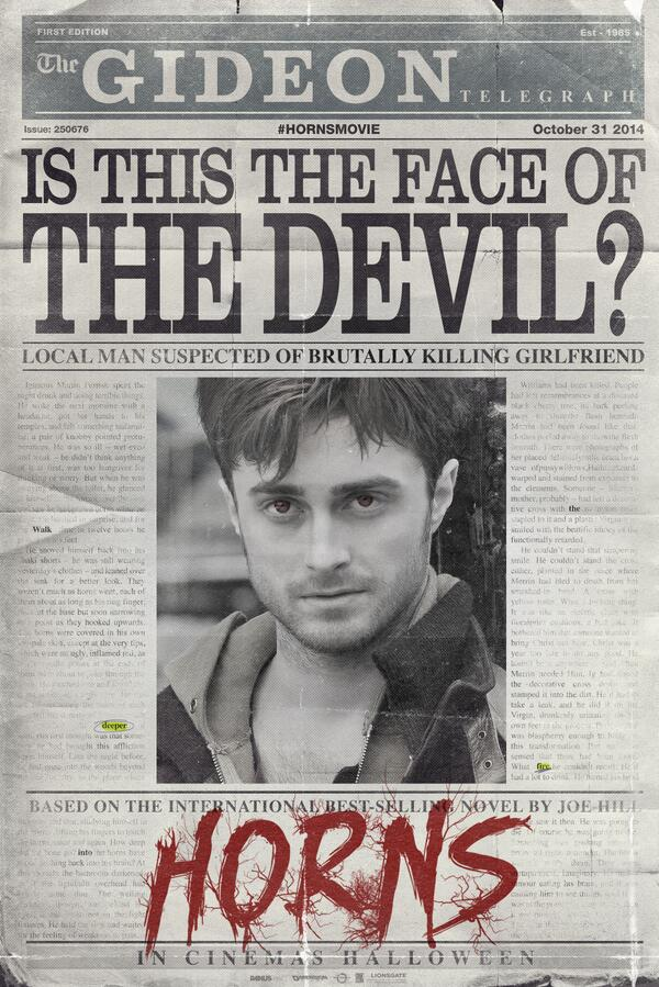 [horns UK teaser poster]