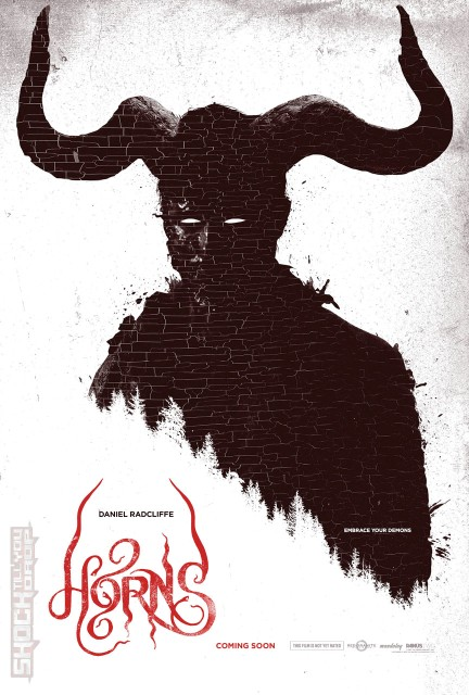 [horns US teaser poster]