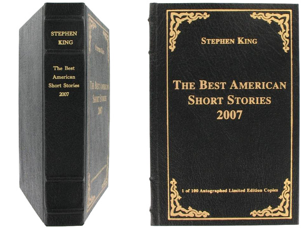 [the best american short stories 2007 stephen king, edition limitee]