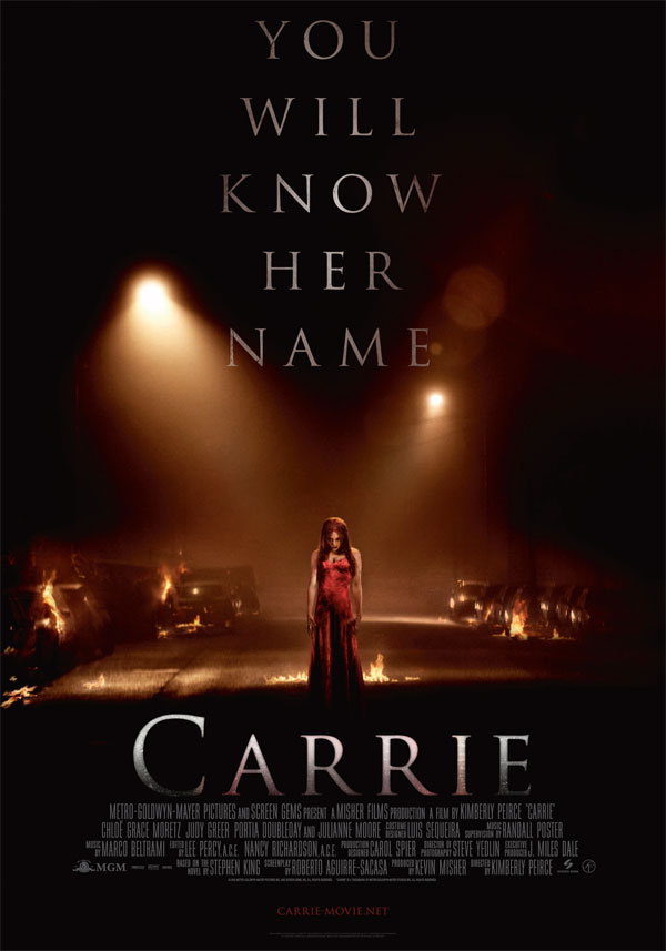 [carrie2013 international poster Stephen King]