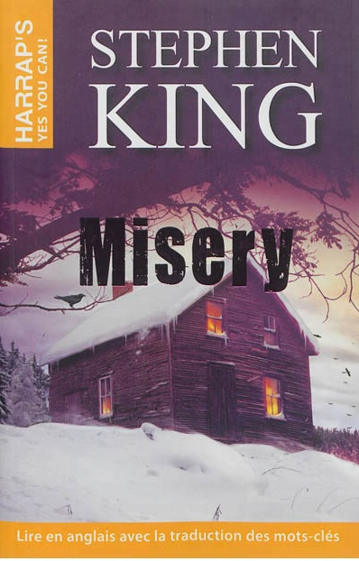 Misery de Stephen King, editions Harraps