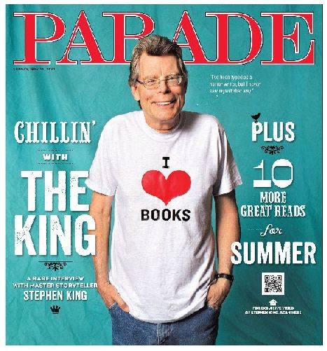 [stephen king PARADE cover - Photo Stephen King]
