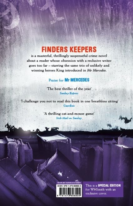 [FindersKeepers StephenKing WHSmith cover 01]