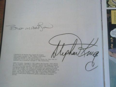 [ebay stephenking fausse signature dedicace 01]