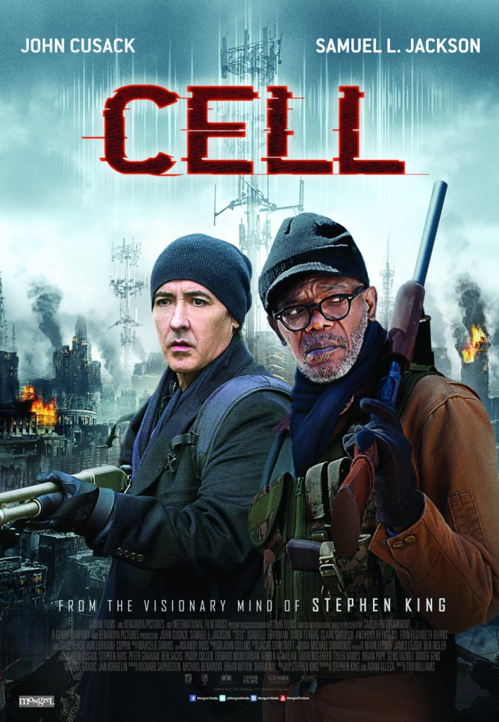 [cell movie poster stephen king]