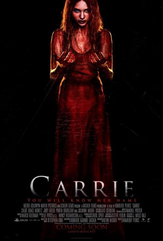 [CARRIE2013 UK Poster, Stephen King]